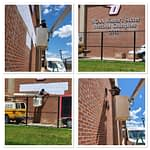Suny Oneonta Building Lettering